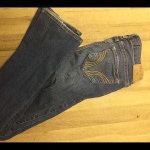 Hollister Jeans - Hollister 23 x 33 distressed skinny jeans